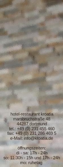 Hotel Restaurant Kroatia Dortmund Aplerbeck